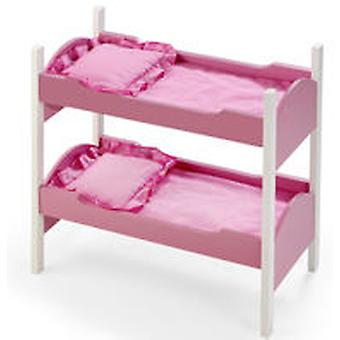 Vercor Pink Bunk Bed (Kids , Toys , Dolls , Babies And Accessories , Cradle)