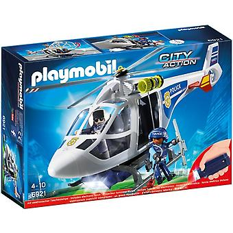 Playmobil City Action Politiehelikopter Met Led-zoeklicht