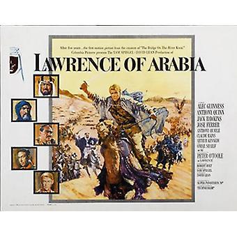 Lawrence av Arabia film plakat (17 x 11)