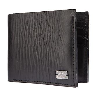 Replay purse wallet purse leather black 2627