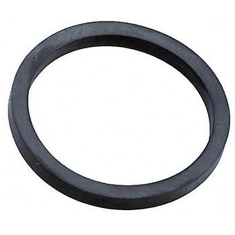 Sealing ring PG9 EPDM rubber Black (RAL 9005) Wiska ADR 9 1 pc(s)
