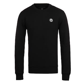 Creative Recreation Essentials Black Jersey Crew Neck Sweatshirt