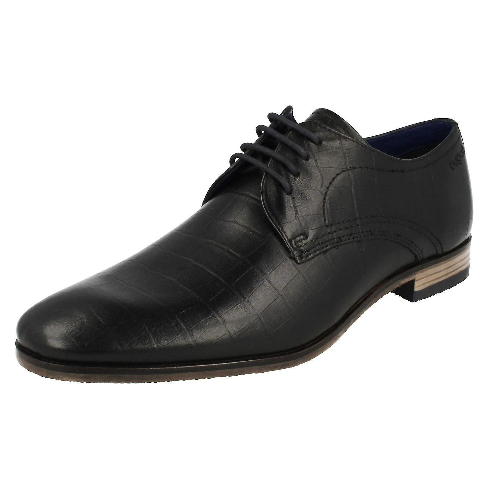 Mens Bugatti Smart formelle Lace Up chaussures 312-10501-1000-1000