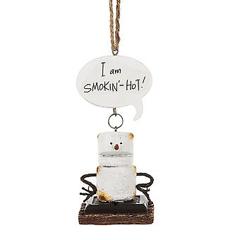 Ristet Smores jeg Smokin Hot jul ferie Ornament