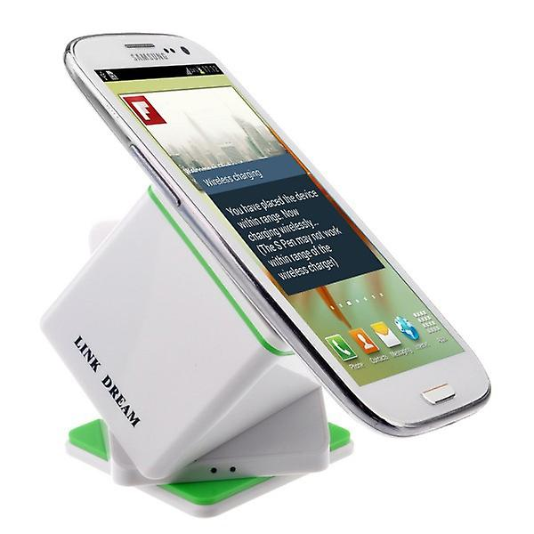 Wireless charging station for many Samsung Galaxy QI charger white