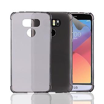 32e hard Gel case voor LG G6 - grafiet