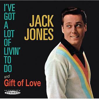 Jack Jones - jeg har fået en masse af Livin ' skal gøre / kærlighedens gave [CD] USA import