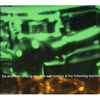 American Analog Set - Late One Sunday & the Following Morning- Bliss Out [CD] USA import