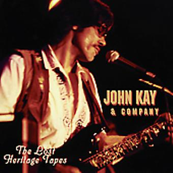 John Kay & virksomhed - mistede arv bånd [CD] USA import
