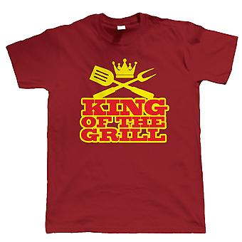 Vectorbomb, BBQ King of the Grill, Mens Funny Tshirt (S to 5XL)
