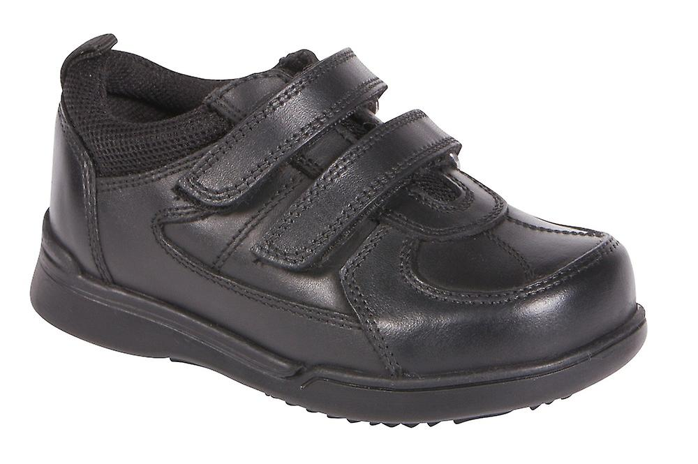 Hush Puppies Boys Liam School chaussures noir F Fitting