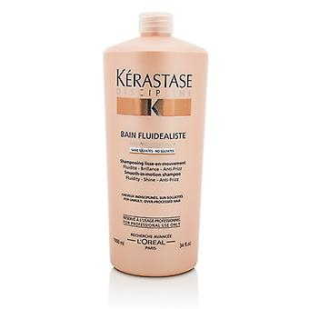 Kerastase Discipline Bain Fluidealiste Smooth-In-Motion Sulfate Free Shampoo - For Unruly, Over-Processed Hair 1000ml/34oz