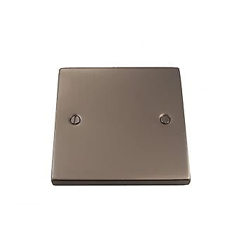Causeway 1 bende lege plaat, Satin Chrome