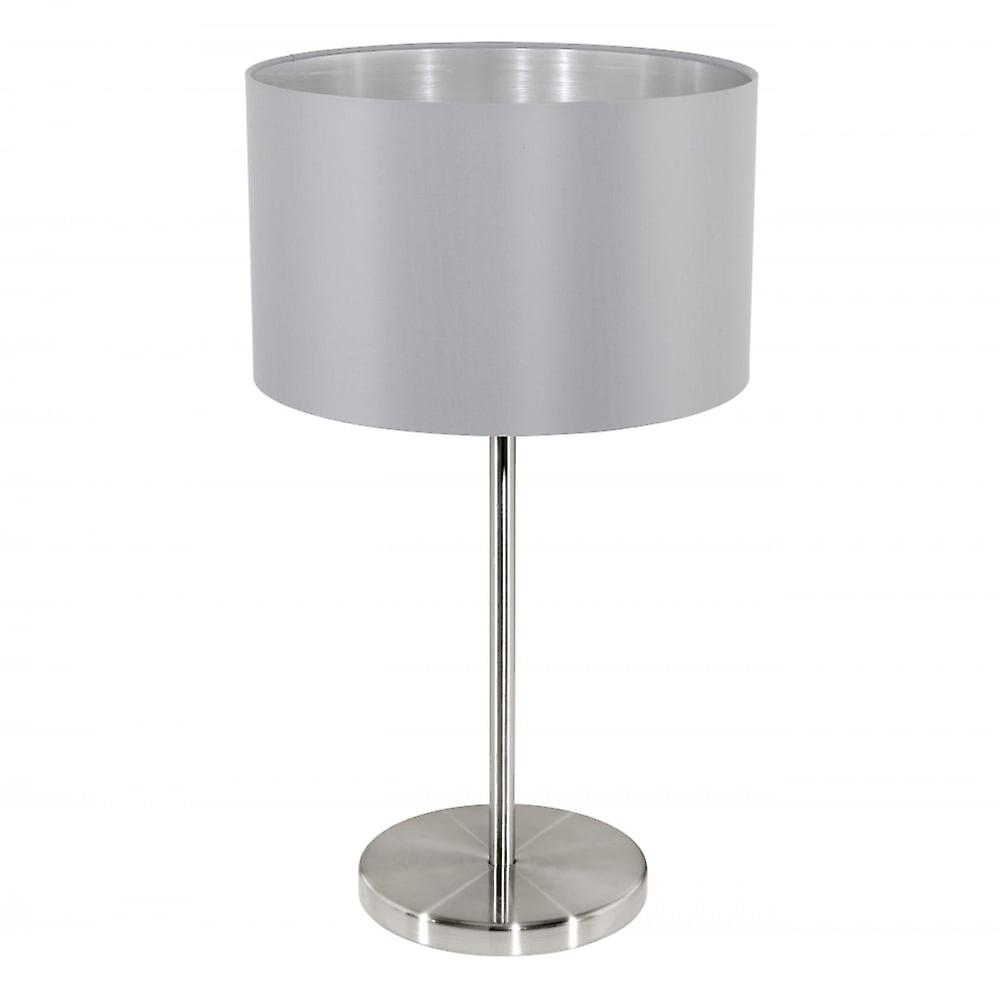 Eglo MASERLO Steel gris Table Lamp