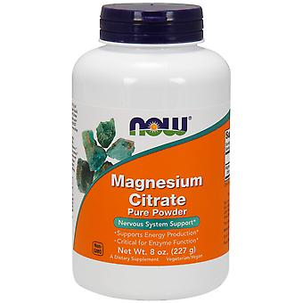 Now Magnesium Citrate 200 mg 100 Comprimidos