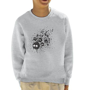 My Neighbor Totoro Susuwatari Ink Kid's Sweatshirt