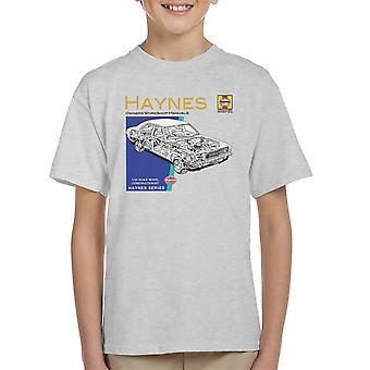 Haynes Owners Workshop Manual 0070 Ford Cortina Mk3 Kid's T-Shirt
