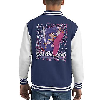 Ranma 1 2 Shampoo Kid's Varsity Jacket