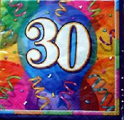 30th Birthday Brilliant Party Napkins