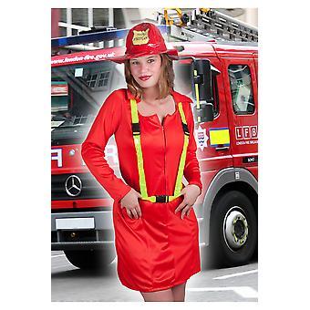 Kvinnor kostymer kvinnor eld Lady