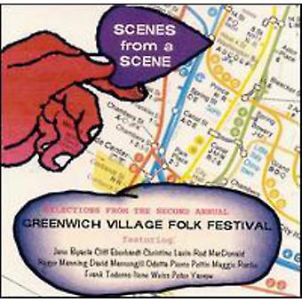 Greenwich Village Folk Festival - scener fra et Scene [CD] USA import