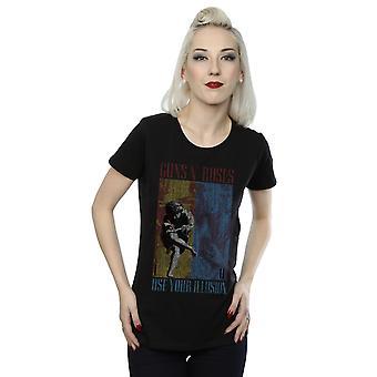 Guns N Roses mujeres usan tu camiseta de ilusión