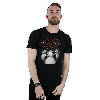 Star Wars Men's The Last Jedi Porgs T-Shirt