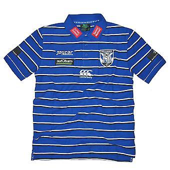 CCC Bulldogs NRL Spieler Medien Rugby Poloshirt