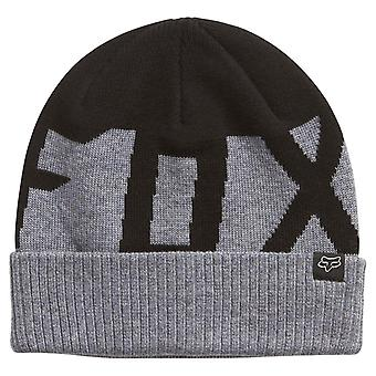 Fox Ridge Wool Beanie - Black