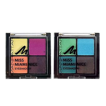 Manhattan Miss Miami Nice Quattro Eyeshadow Palette
