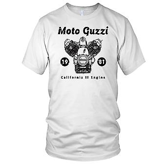 Moto Guzzi California II Engine Classic Motorbike Mens T Shirt