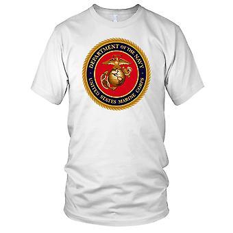 USMC Marines Dept Navy Mens T Shirt