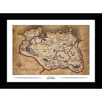 Mappa di Skyrim Collector stampa 50x70cm