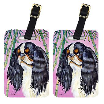 Carolines Treasures  7170BT Pair of 2 English Toy Spaniel Luggage Tags