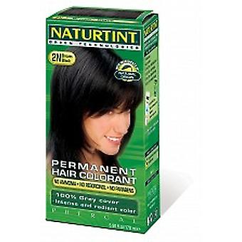 Naturtint, pelo tinte marrón negro, 165ml