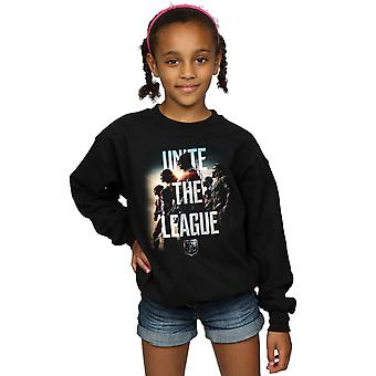 DC Comics Girls Justice League Movie Unite The League Sweatshirt