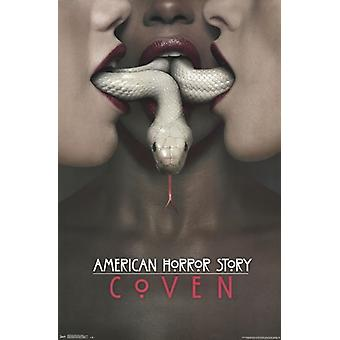 American Horror Story - Coven Poster Poster Print
