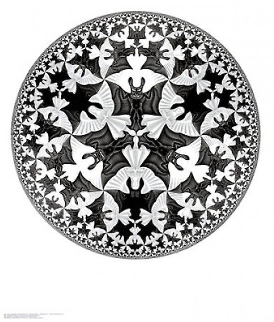 Circle Limit IV Poster Print by MC Escher (22 x 26)