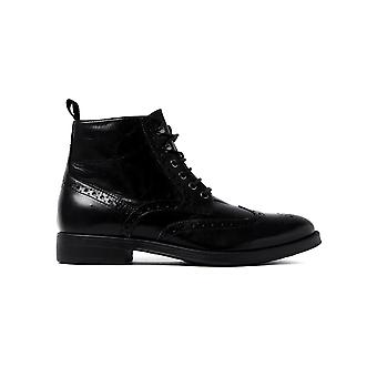 Men's Blaxe Boots - Black Leather