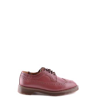 Dr. Martens men's MCBI103010O red leather lace-up shoes
