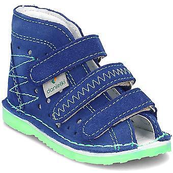 Danielki TA105 TA105BLUEFLUOZ til hjem spædbørn sko