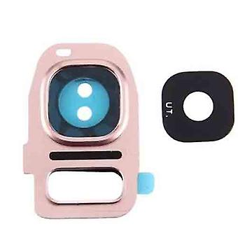 Samsung Galaxy S7 Camera Lens Cover - roze
