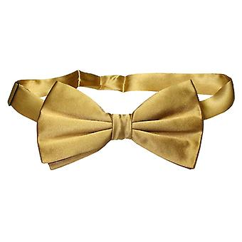 100% SILK BOWTIE Solid Men's Bow Tie for Tuxedo or Suit