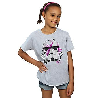 Star Wars Girls Stormtrooper Command Sketch T-Shirt