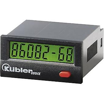 Kübler CODIX 134 HB Operating hours timer LCD