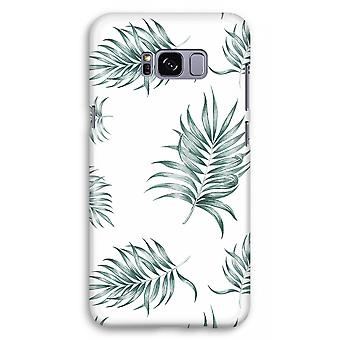 Samsung Galaxy S8 Plus Full Print Case (Glossy) - Simple leaves