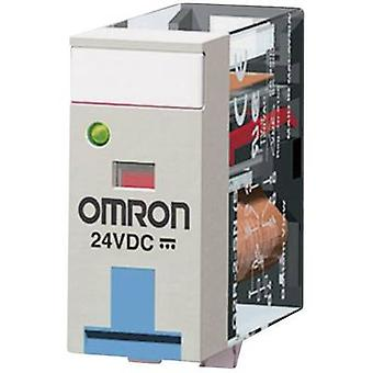 Plug-in relay 24 Vdc 10 A 1 change-over Omron G2R-