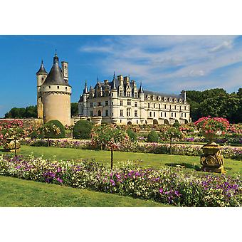 Jumbo Castle In The Loire Premium Jigsaw Puzzle (1000 Pieces)