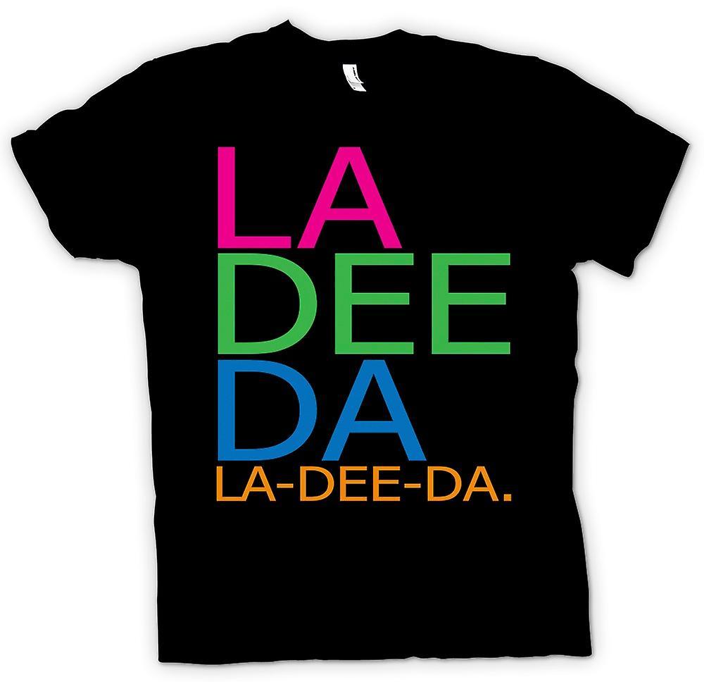 Hommes T-shirt - Annie Hall La Dee Da - Drôle