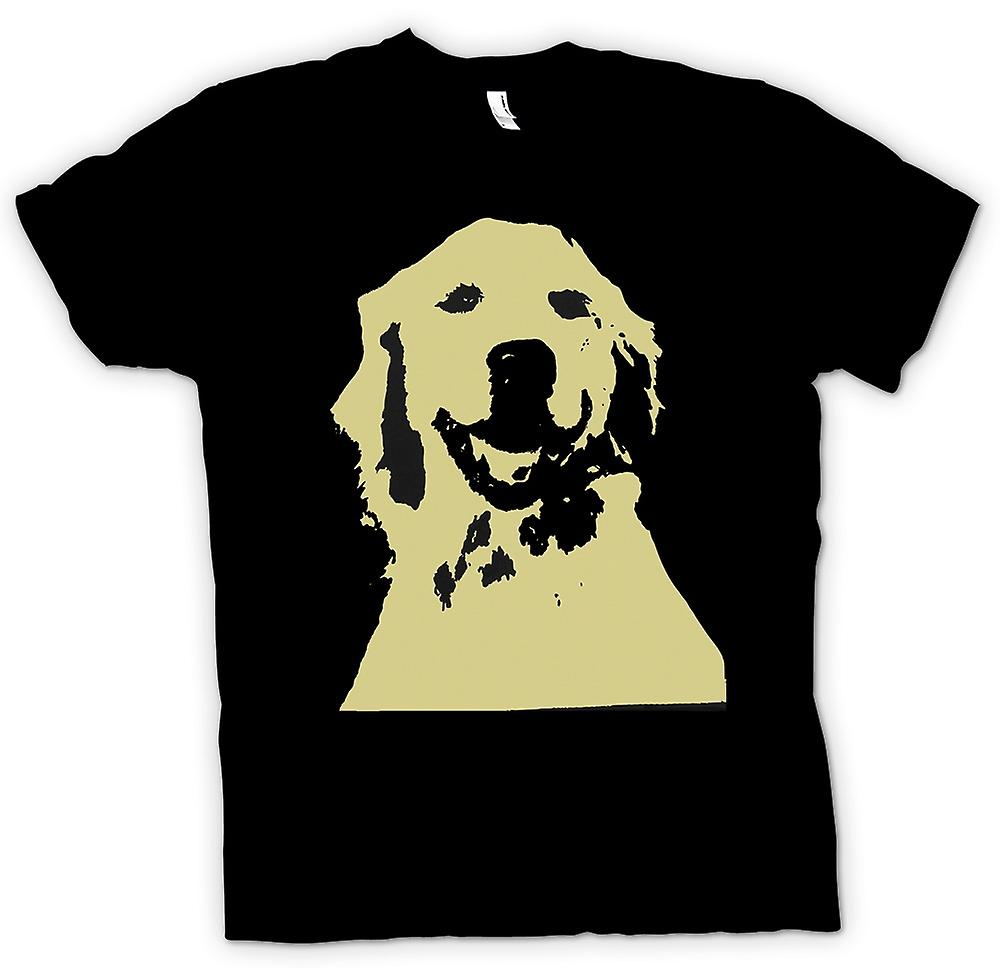 Mens T-shirt-chien Labrador - Pop Art-